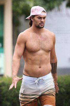 Jason Momoa - a little belly is welcomed
