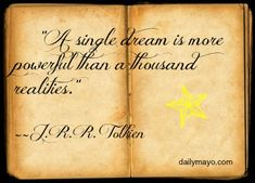 Quote: J.R.R. Tolkien on Imagination — Daily Mayo