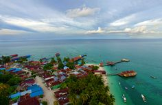 Derawan from above