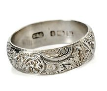 Ah i adore the Baroque era and the centuries of influence. Lovely c. 1882 antique Eternity Band