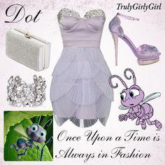 Disney Style: Dot, created by trulygirlygirl on Polyvore