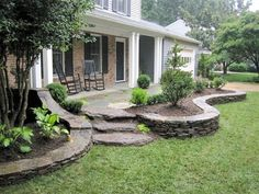25 beautiful front yard landscaping ideas on a budget (14) #LandscapingIdeas