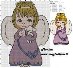 Schema punto croce dolce angioletto 100x137 11 colori.jpg (4.22 MB) Mai osservato