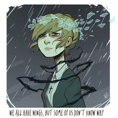 """""""Leave the horror here""""  I was really touched by the character of Kate Marsh in Life Is Strange, so once again a little fanart."""