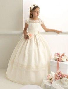 13 Hermosos vestidos para comunión de chantilly (10)
