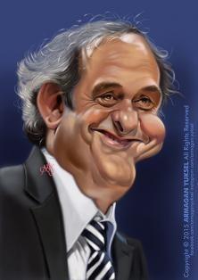 Michel Platini by Armagan Yuksel