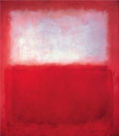 Mark Rothko, White over Red, 1957 | Art of the Day | Magazine | Artfinder