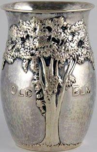 Arts and Crafts - Sterling Silver Kalo Vase