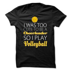 I Love Playing Volleyball T-shirt And Hoodie | DonaShirts.com - Dare To Be T-Shirts, Hoodies And Custom