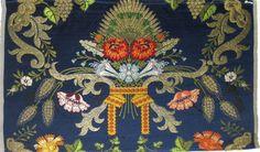 """Soto"", manual silk fabric from Garin company (Valencia, Spain)"