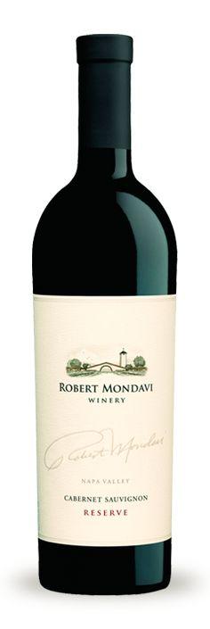 2008 Robert Mondavi Winery Cabernet Sauvignon Reserve