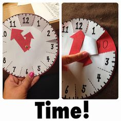 FREE It's About Time Clock. Memorable way to teach kids how to tell time to the 5-minute interval.