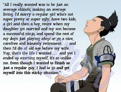 Shikamaru, you were made for more than just an average life