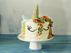 This colorful unicorn-inspired layer cake is the pinnacle of cuteness—perfect for a birthday party or for anyone who's just super into...