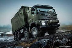 Volvo FMX 8x8 Heavy Utility Truck | Military-Today.com