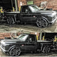I seriously am keen on this coloring for this Chevy Pickup Trucks, Classic Chevy Trucks, Gm Trucks, Chevrolet Trucks, Diesel Trucks, Cool Trucks, Jeep Truck, Dropped Trucks, Lowered Trucks