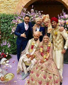 Anushka Sharma and Virat Kohli Wedding Wear - Bollywood Wedding Wedding Wear, Wedding Pics, Wedding Attire, Wedding Couples, Wedding Ceremony, Wedding Lehnga, Wedding Sherwani, Wedding Dresses, Wedding Albums