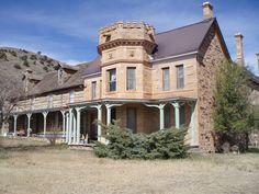 Dorsey Mansion Outside Springer New Mexico