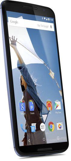 "Google Nexus 6 - Smartphone libre Android (pantalla 5.96"", cámara 13 Mp, 32 GB, Quad-Core 2.7 GHz, 3 GB RAM), azul"