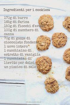 Smiles Beauty and More: Cookies ai fiocchi d'avena e cioccolato con gelato alla banana