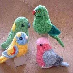 Meu Mundo Craft: Doces bichinhos em crochê II