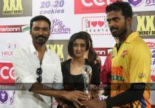 Chennai Rhinos VS Karnataka Bulldozers 1st Semi Final CCL match