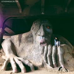 the fremont troll seattle washington. troll in seattle. what to do in seattle. seattle things to do. fun things to do in seattle. things to do in seattle. best things to do in seattle. Seattle Vacation, Seattle Travel, Seattle Airport, Seattle Washington, Washington State, Oh The Places You'll Go, Places To Travel, Palm Springs, Las Vegas World
