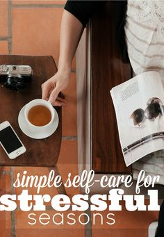 When we feel overwhelmed or stressed self-care could be the last thing on our list. We've all been there a time or too! Here our own 5 best tips for simple self-care during a stressful season.