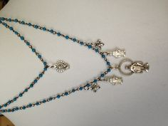 Blessed Mother necklace.