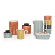 Orla Kiely - Linear Stem Ramekin Dishes - Set of 4