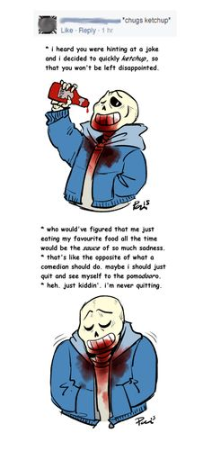 awful ketchup puns (undertale) by bPAVLICA on DeviantArt