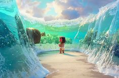 Moana was absolutely beautiful the animation let alone was jaw dropping glad I saw this movie