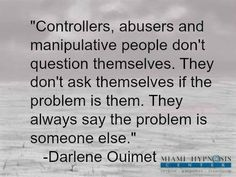 controlling people are insecure