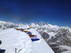 View from Mera Peak, Nepal