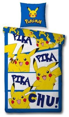 Dekbed Pokemon Pika Pika