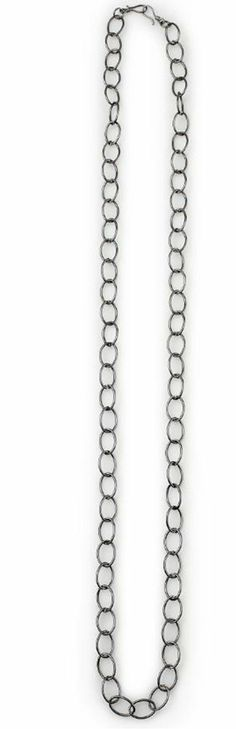 "Stacie- 46.5"" This simple gun metal chain adds dimension as a layered necklace or belt. A favorite go-to look you'll be glad to have on hand. $35 #stacie #yourstylemialisia"