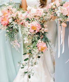 Cascading Bouquets | Loluma Events | Charleston, SC