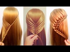 NEW Hairstyles Tutorials Compilation 2017 ❤ Best Hairstyles for Girls - YouTube