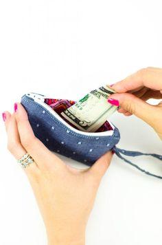 DIY Wallet | an easy