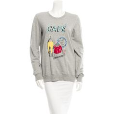 Pre-owned Markus Lupfer Sweatshirt ($95) ❤ liked on Polyvore