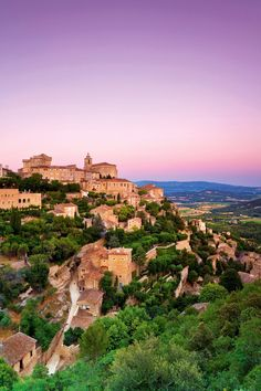 Gordes, Provence, France.  Colby and I got the chance to visit this picturesque village