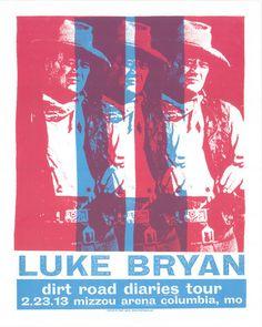 Luke Bryan Poster