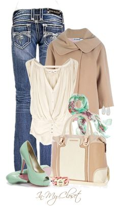 """""""Hint of Mint"""" by in-my-closet on Polyvore"""