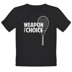 Tennis - Weapon T-Shirt Tennis Shirts, King Duvet, Weapon, Tees, Mens Tops, T Shirt, Shopping, Women, Style