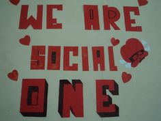 We are SOCIAL ONE We are strong together :)