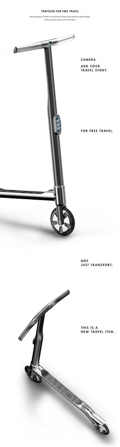 Traveler by Kyumin Ha | Industrial Design Served