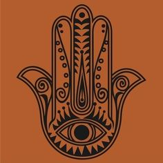 hamsa vinyl wall decal by beepart on Etsy