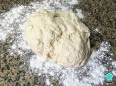 PAN AMASADO - ¡Receta chilena fácil! Sugar, Homemade Food, Bread Recipes, Pastries, Breads, Afternoon Snacks, Meals