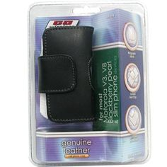 Cellular Phone Case, Genuine Leather - Blackberry-Style $14.98