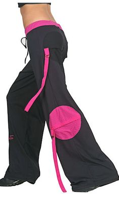 great zumba pants -- tell me this isn't somethin I would have worn in high school? lol